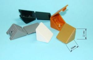 обычные пластиковые уголки